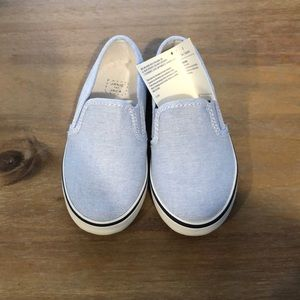 Janie and Jack toddler slip on boat shoes!